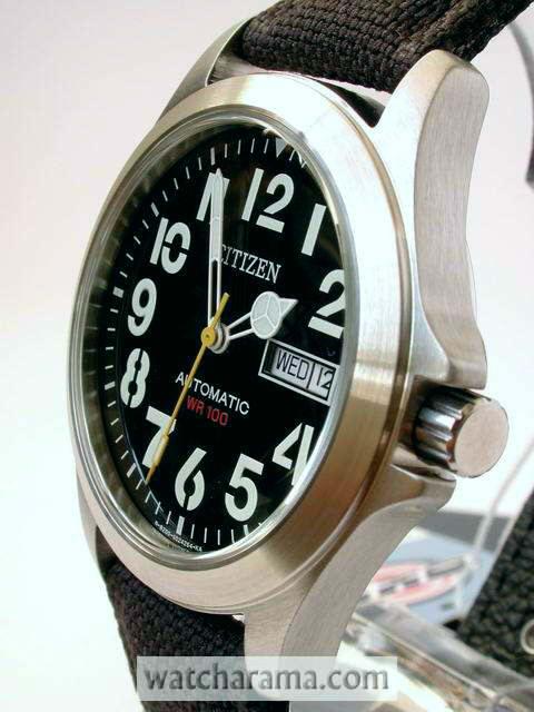 Citizen Oxy Military Automatic