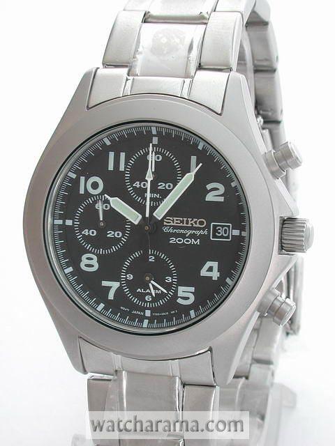 Seiko Military Style Chronograph SNA029