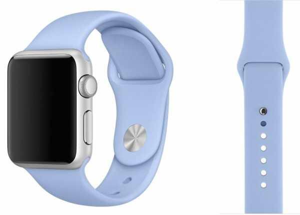 Third party Apple watch bands rubberen sport bandje Lila-006