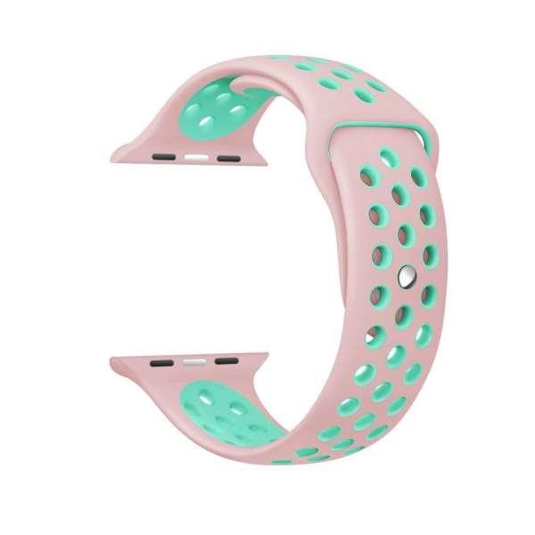 sport bandje voor de Apple Watch-Rose Aqua-006