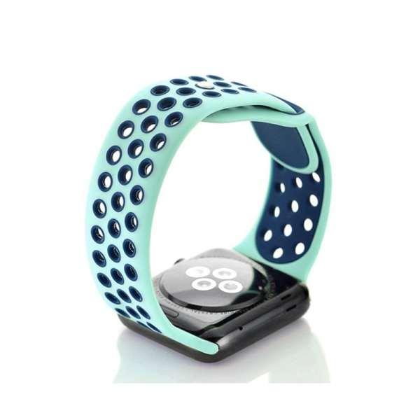 sport bandje voor de Apple Watch-aqua-blauw-005