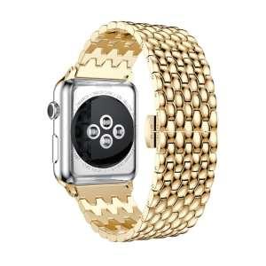 RVS goud metalen bandje armband voor de Apple Watch iwatch-002