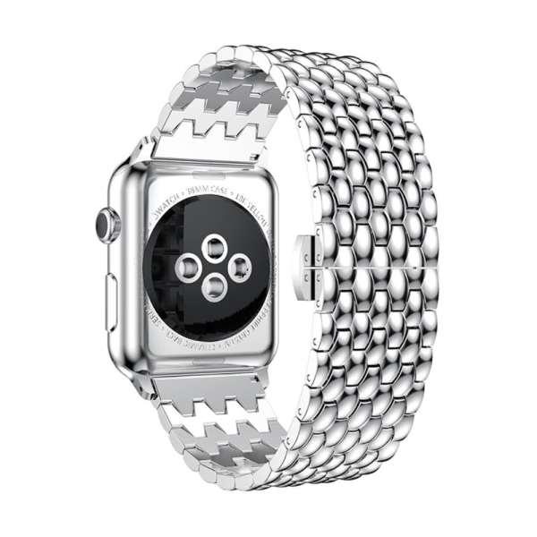 RVS zilver metalen bandje armband voor de Apple Watch iwatch-002