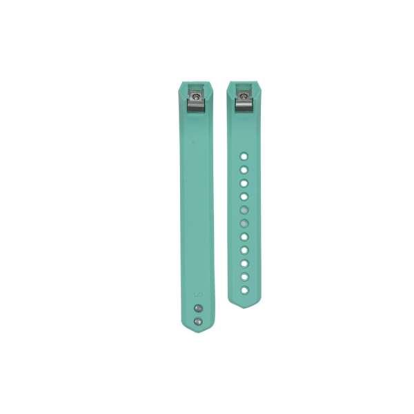 Luxe Siliconen Bandje large voor FitBit Alta – mint groen_003