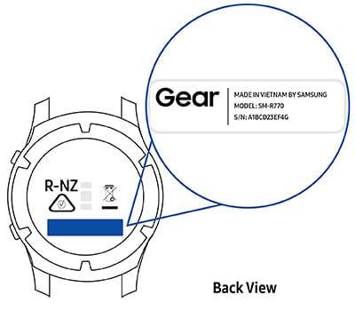 Vind -model-Samsung gear