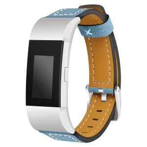Fitbit Charge 2 bandjes leer blauw_002