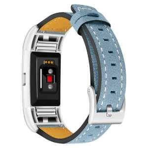 Fitbit Charge 2 bandjes leer blauw_003
