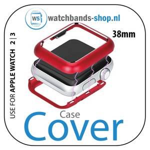 38mm beschermende Magnetisch Case Cover Protector Apple watch 2 - 3 rood_1001
