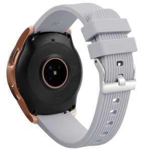 Samsung Gear Sport bandje Galaxy Watch 42mm SM-R810 Galaxy Watch 42mm SM-R810 silicone grijs small_001
