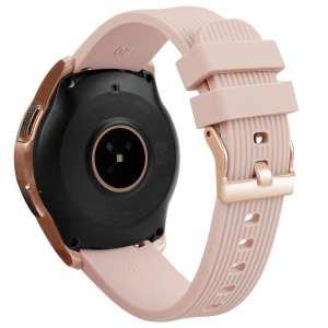 Samsung Gear Sport bandje Galaxy Watch 42mm SM-R810 Galaxy Watch 42mm SM-R810 silicone rose goud small_012