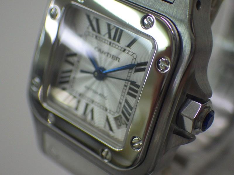 カルティエ サントスガルベSS SM W20054D6 CASE#4316