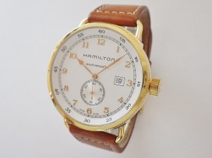 ハミルトン カーキネイビーパイオニア H777450 CASE#11438