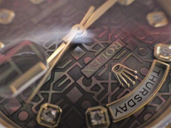時計修理技術者コラムVol.43 ロレックスのカレンダーの不具合~デイデイト/Cal.3155編~
