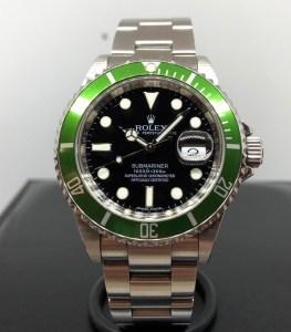 Rolex Submariner verde