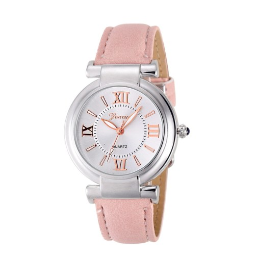 Geneva Roman Numerals Quartz Watch for Women