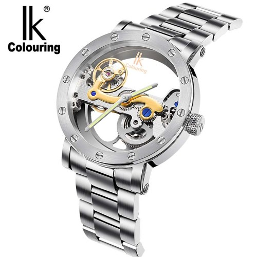 IK Colouring automatic mechanical double-sided watch