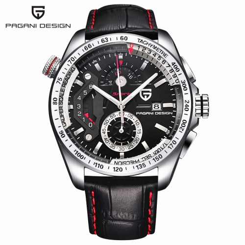 Pagani Design Stainless Steel Quartz Sport Watch