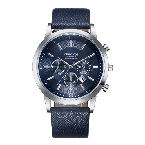 CHRONOS Men Watch Auto Date Sport