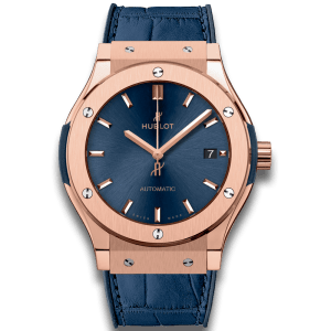 HUBLOT – CLASSIC FUSION BLUE KING GOLD