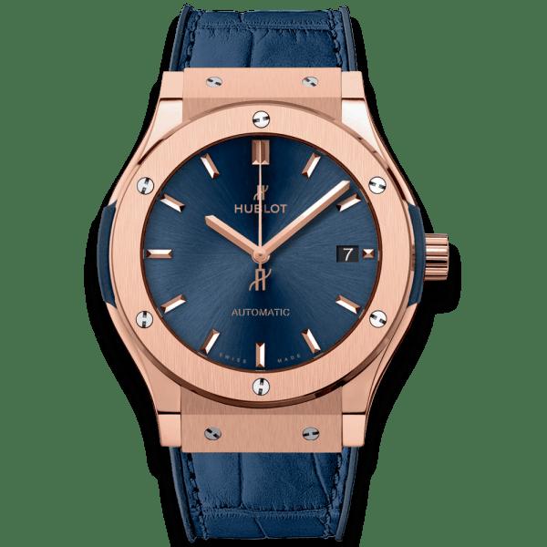 HUBLOT – CLASSIC FUSION BLUE KING GOLD