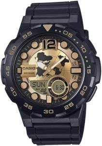 Casio AD203 Youth Series Analog-Digital Watch for Men