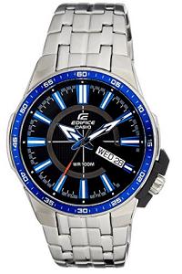 Casio Edifice Analog Black Dial Men's Watch – EFR-106D-1A2VUDF
