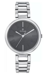 Titan NF2480SM02/NE2480SM02 Purple Analog Watch for Women