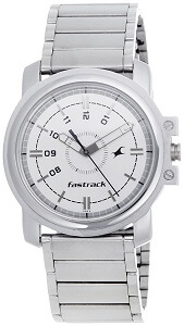 Fastrack Economy Analog White Dial Men's Watch NE3039SM01