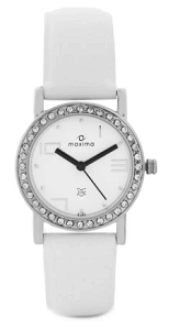 Maxima 27120LMLI Swarovski Analog Watch for Women