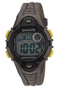 Sonata NH87012PP01 Digital Watch for Men