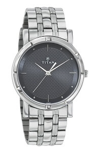 Titan Karishma Analog Black Dial Men's Watch -1639SM02