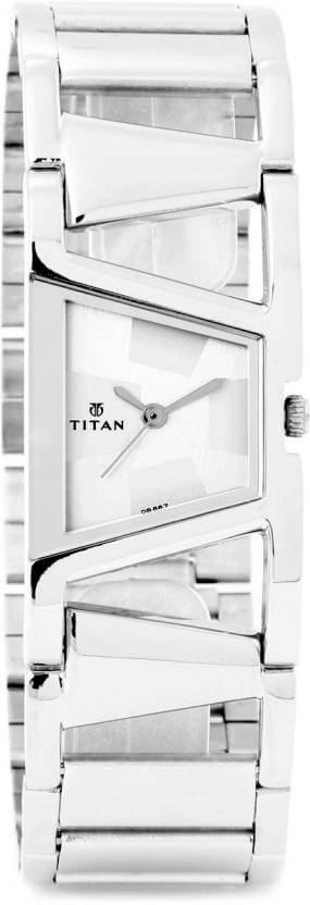Titan NH2486SM01 Purple Analog Watch for Women