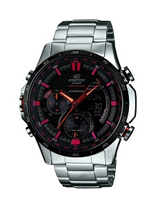 Casio Edifice Analog-Digital Black Dial Men's Watch - ERA-300DB-1AVDR