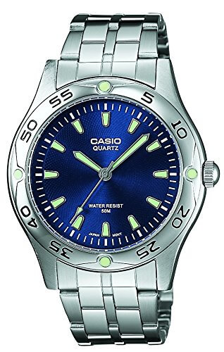 Casio Enticer Analog Blue Dial Men's Watch – MTP-1243D-2AVDF