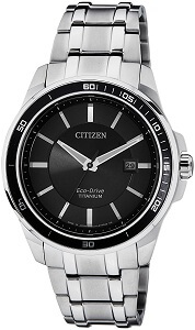 Citizen Eco-Drive Analog Black Dial Men's Watch BM6921-58E