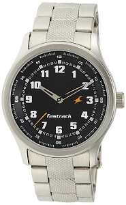Fastrack Essentials Analog Black Dial Men's Watch - NE3001SM01