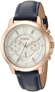 Fossil Analog White Dial Women's Watch - ES4040