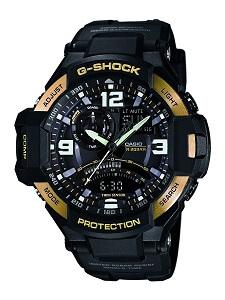 G-Shock Professional Analog-Digital Black Dial Men's Watch - GA-1000-9GDR