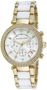 Michael Kors Analog White Dial Women's Watch - MK6119