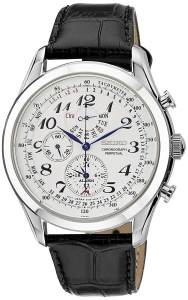 Seiko Dress Chronograph White Dial Men's Watch - SPC131P1
