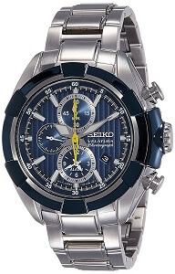 Seiko Velatura Chronograph 100M WR Men's Watch