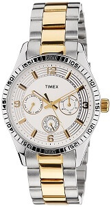 Timex E-Class Analog Silver Dial Women's Watch - TI000W20300