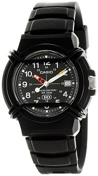 Casio Enticer Analog Black Dial Men's Watch – HDA-600B-1BVDF