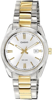 Casio Enticer Analog Silver Dial Men's Watch – MTP-1302SG-7AVDF