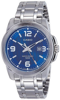Casio Enticer Analog Blue Dial Men's Watch – MTP-1314D-2AVDF
