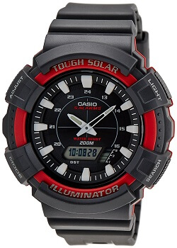 Casio Youth Series Analog-Digital Black Dial Unisex Watch – AD-S800WH-4AVDF
