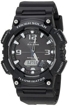 Casio Youth Analog-digital Black Dial Men's Watch – AQ-S810W-1AVDF