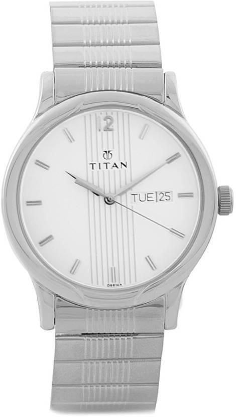 Titan NH1580SM03 Karishma Analog Watch – For Men