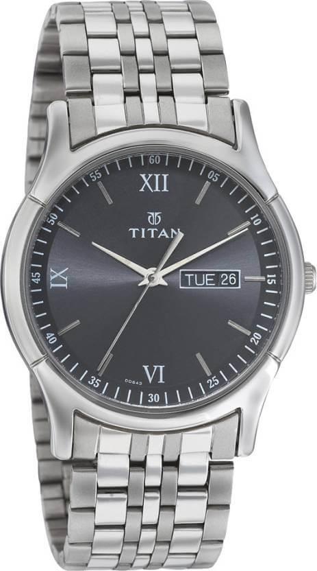 Titan NH1636SM01 Karishma Analog Watch – For Men