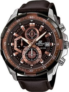 Casio Edifice Stopwatch Chronograph Brown Dial Men's Watch - EFR-539L-5AVUDF